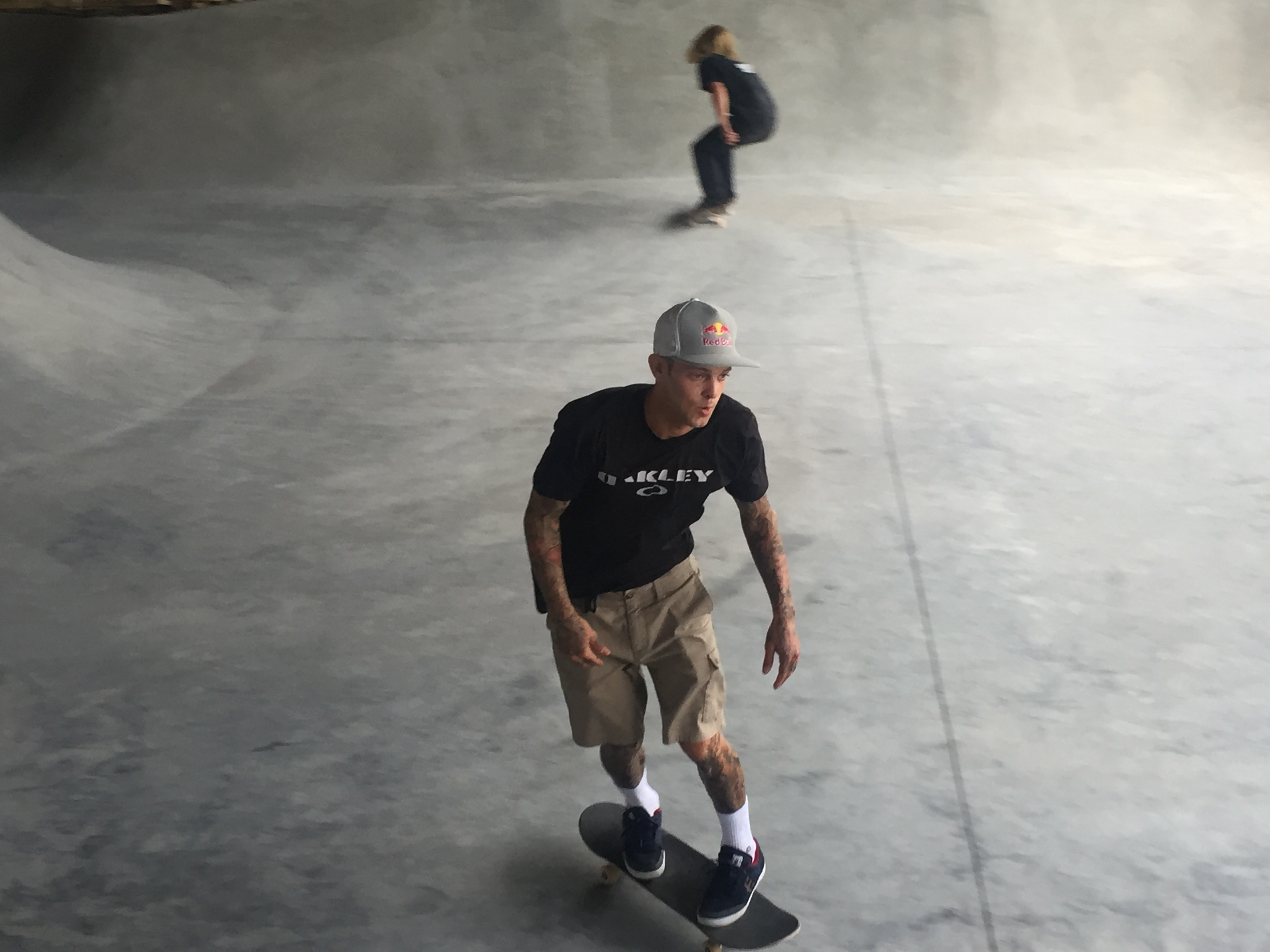 Rare legal skatepark expands