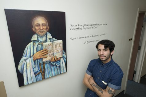 Religious Studies Department displays student art