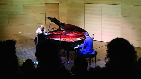 Marsalis and Torkanowsky perform rare piano duet
