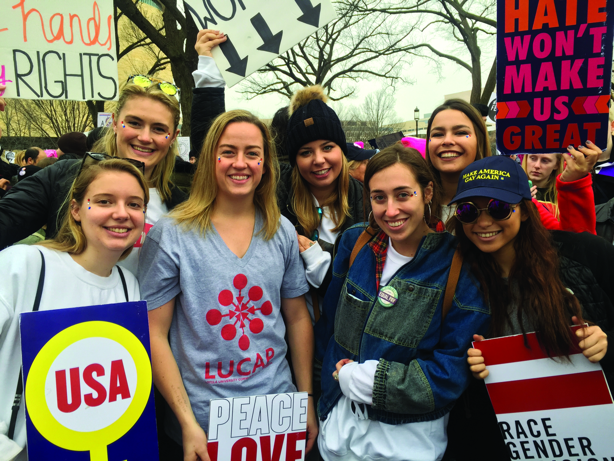 Opinion: What to learn from a student at the Women's March in Washington