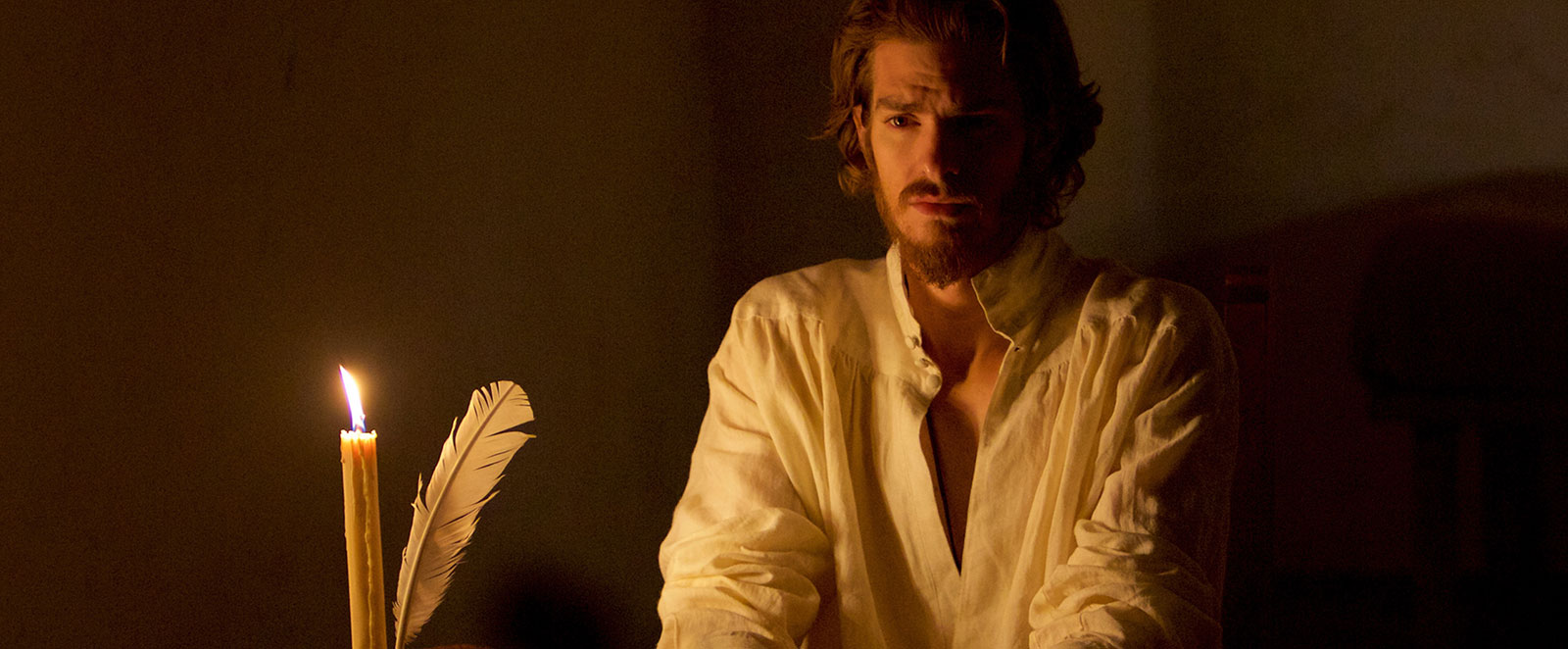 Andrew Garfield plays a Jesuit priest in Marin Scorsese's