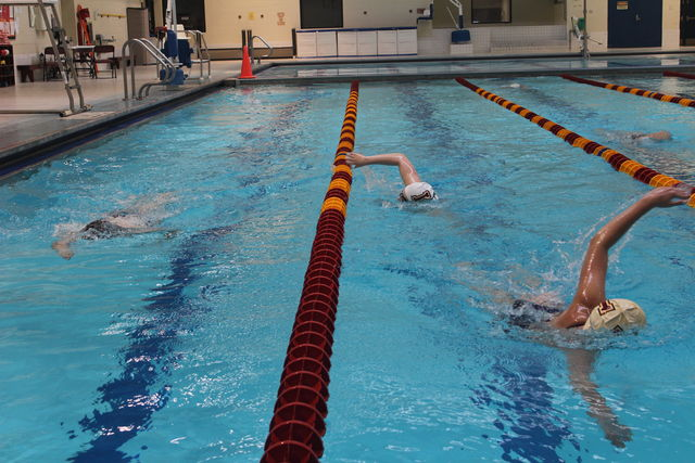 Loyola swim team is making a big splash