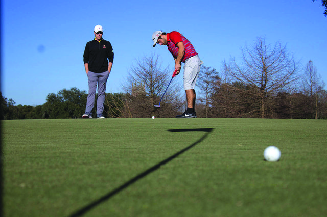 Golf teams come in sixth in the Claude Jacobs Invitational