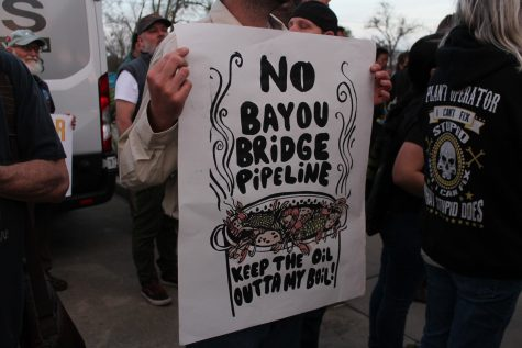 Bayou Bridge hearing disrupted by protest