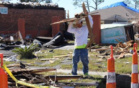 New Orleans East continues to rebuild a week after tornado