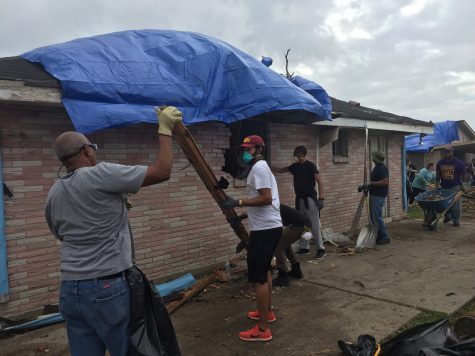 Student organizations aid in tornado relief