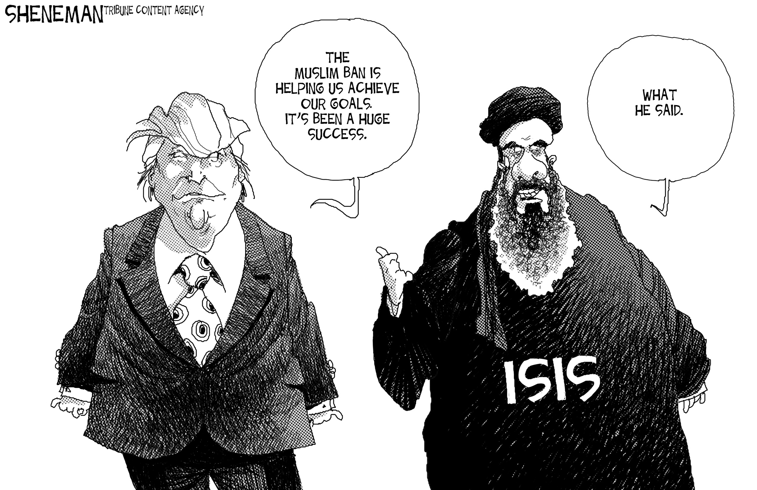 Editorial: Don't be distracted, Trump's executive order is a 'Muslim ban'