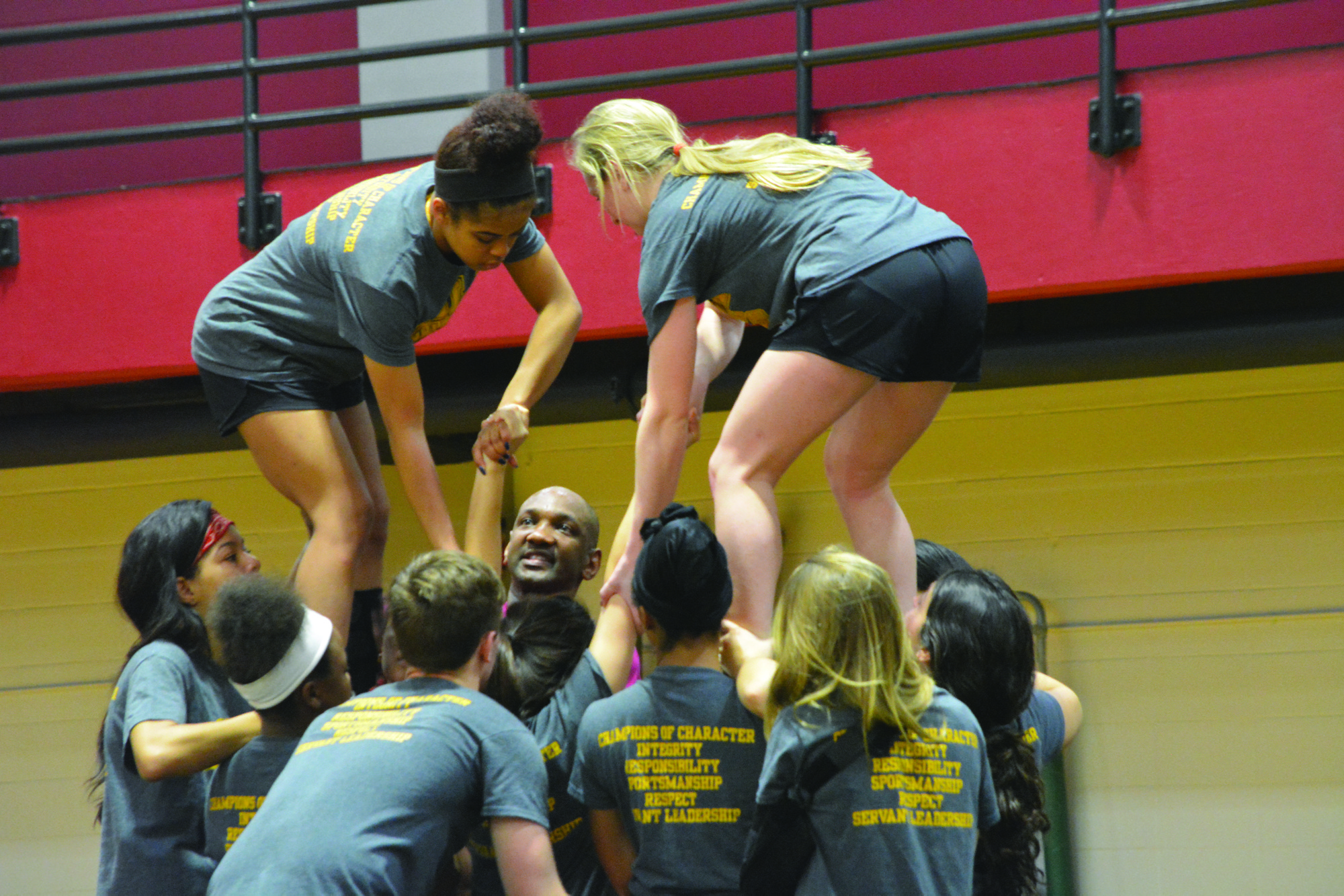 The cheer and dance teams look to improve in their inaugural season