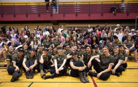 Greek Week rocks out with Airband performance