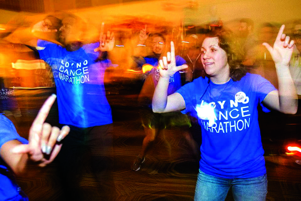 SGA hosts Dance Marathon for Children's Hospital New Orleans