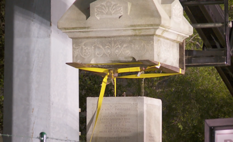 Confederate monuments to come down in May