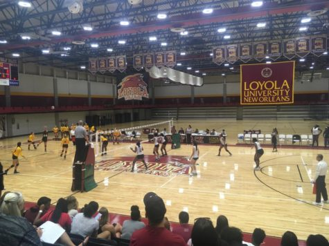 Loyola's Volleyball Team Takes Down Talladega College
