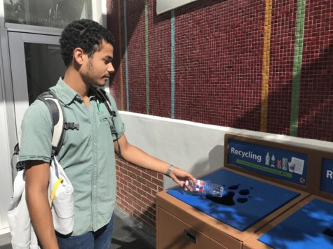 Recycling efforts on campus still evolving