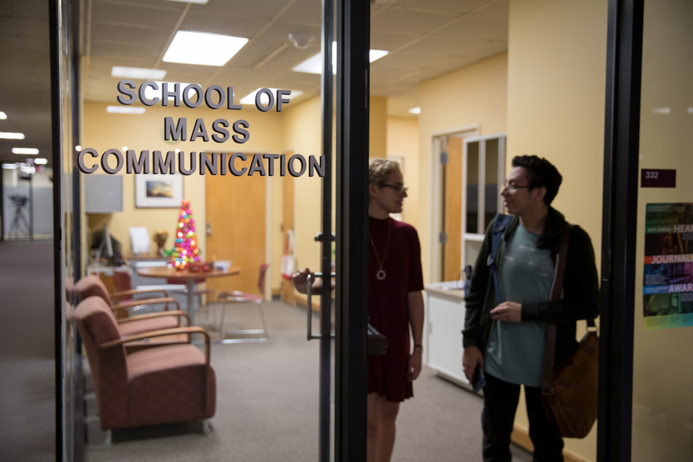 School of Mass Communication moving to College of Music and Fine Arts