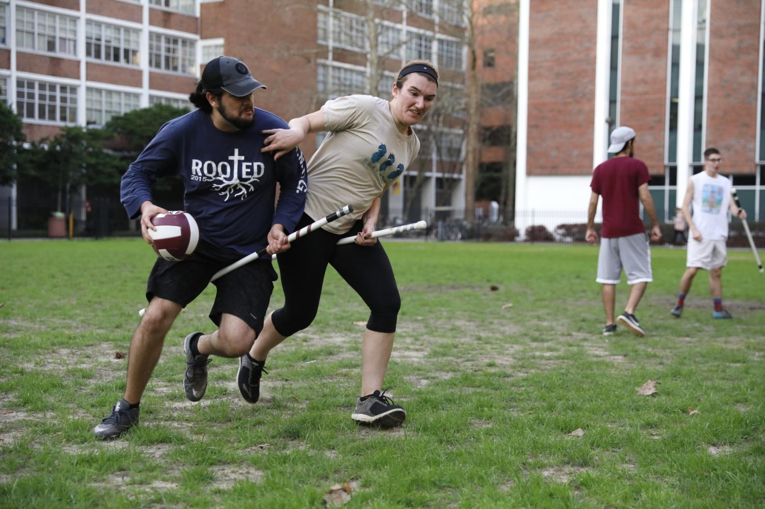 Quidditch team focusing on rebuilding this season