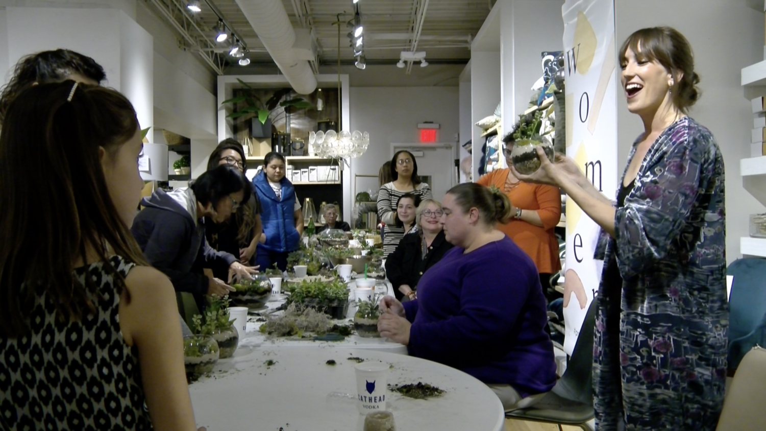 Botanical workshop turns International Women's Day green