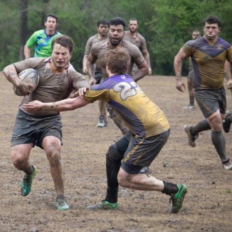 Rugby team takes home trophy in South Alabama 7's Tournament