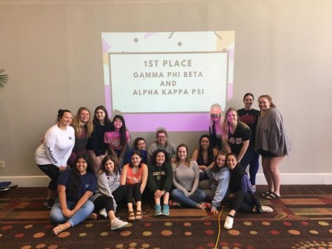 Professional fraternities join with fraternity and sorority life