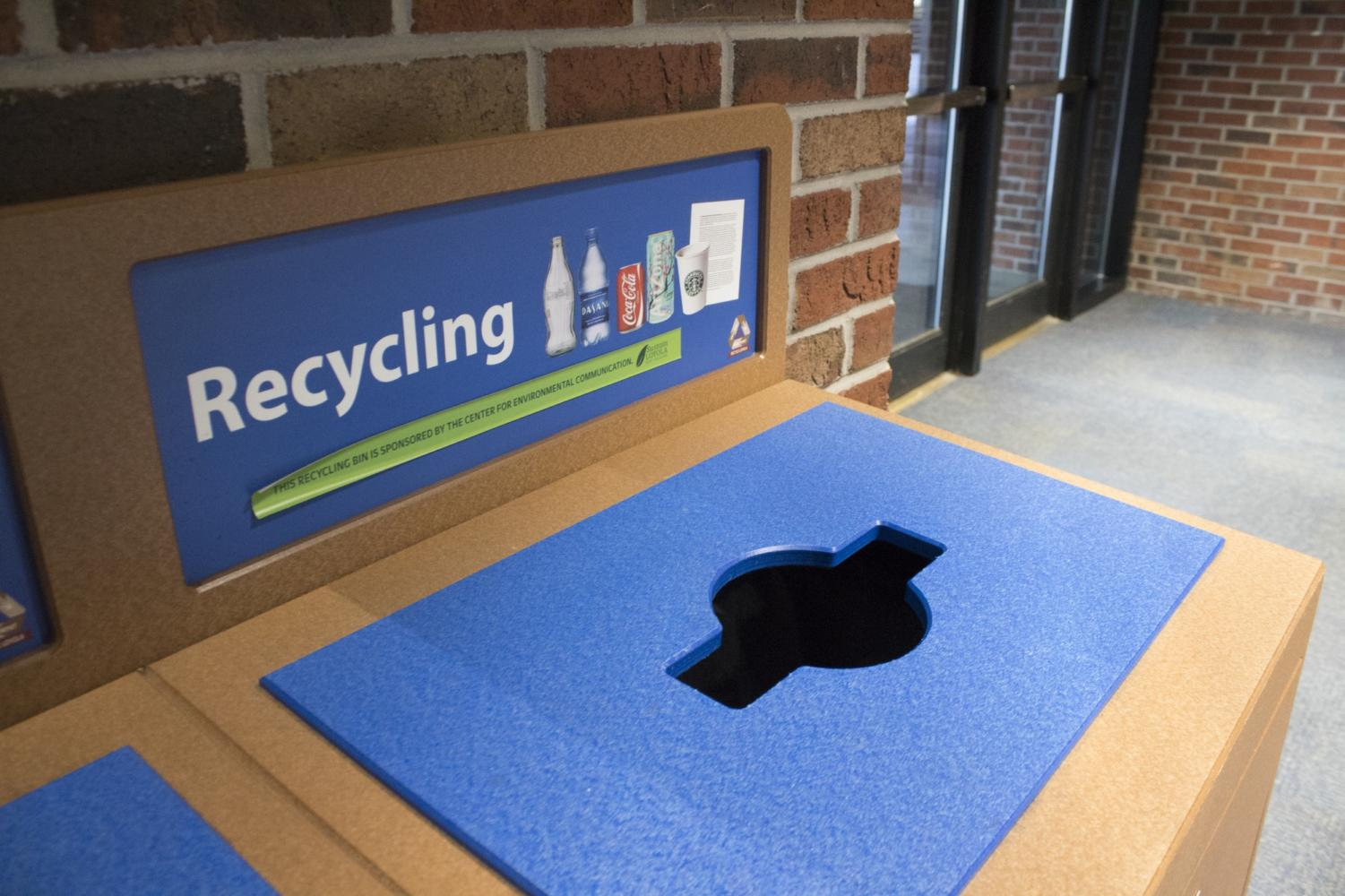 Loyola awarded Coca-Cola Public Space Recycling Grant