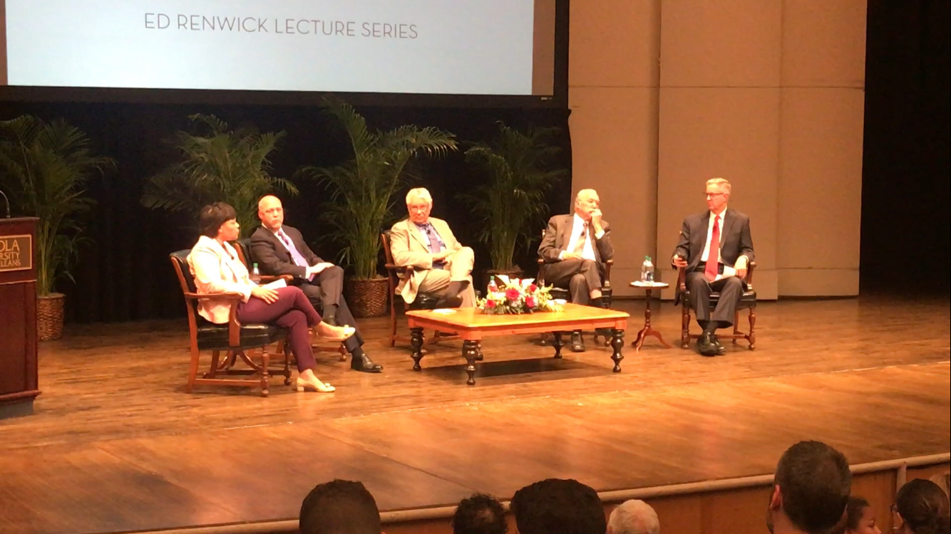 Cantrell, Landrieu(s) discuss New Orleans past, future at Loyola lecture