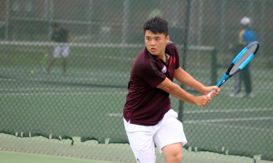 Freshman+Tiger+Cheung+is+the+newest+international+tennis+player+from+Hong+Kong%2C+China.+After+traveling+over+8%2C000+miles+from+his+home%2C+Cheung+has+embraced+Loyola+as+his+school.+Photo+credit%3A+Loyola+University+Athletics