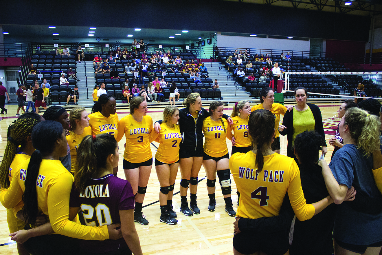Volleyball looks to improve next season