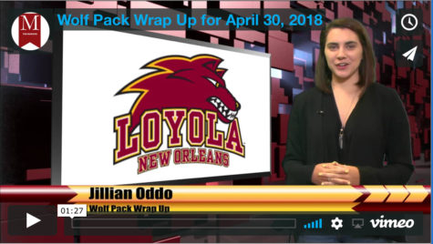 Wolf Pack Wrap Up for Monday March 12, 2018
