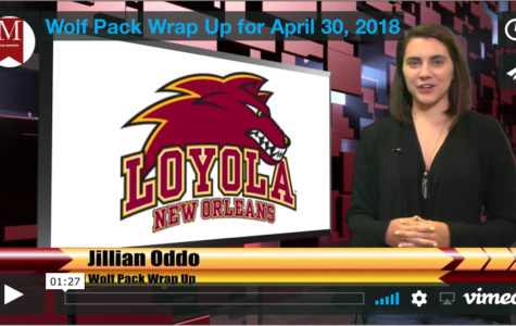 Wolf Pack Wrap Up for Monday, April 30, 2018