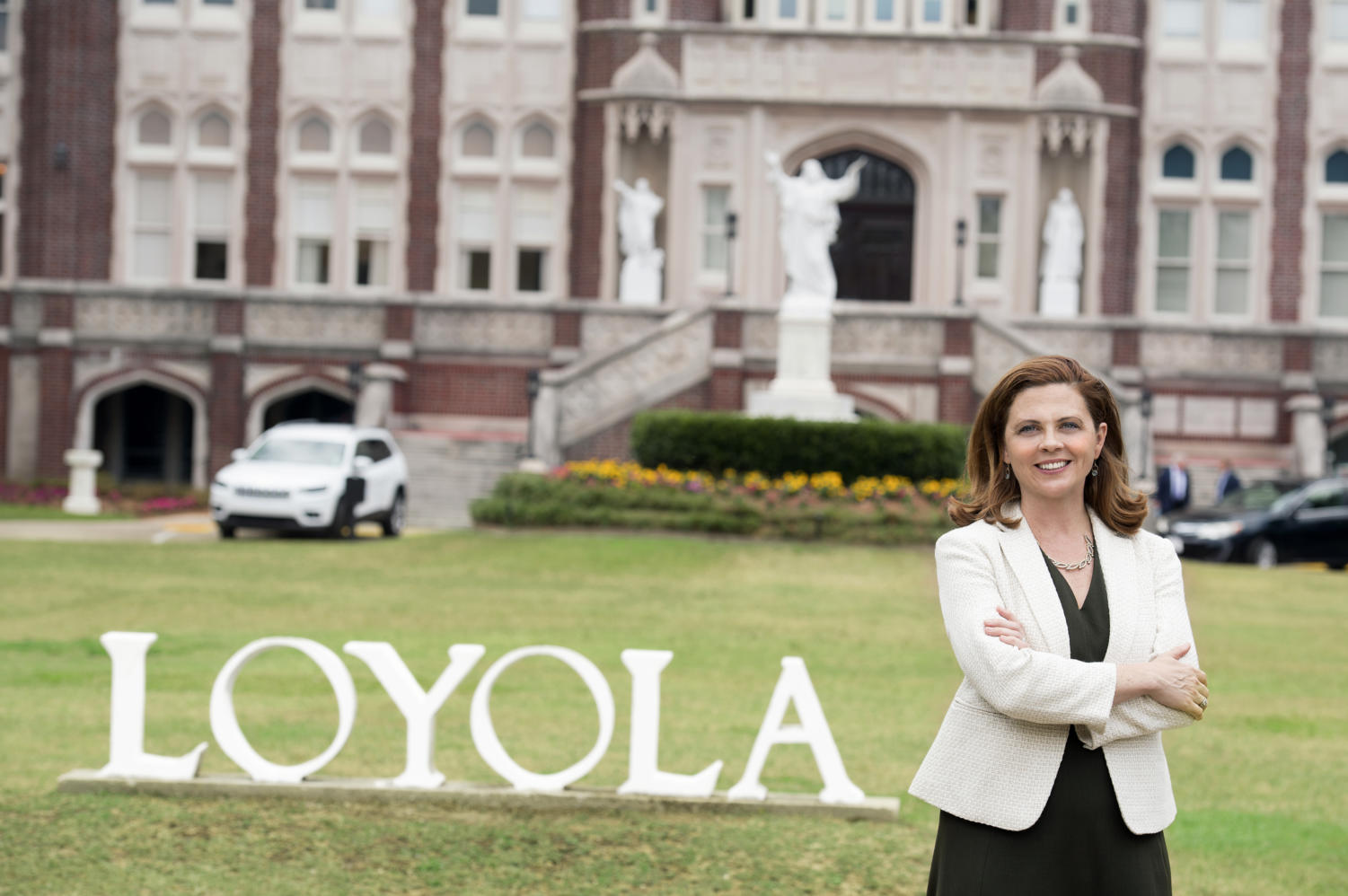 Tania Tetlow has been elected as Loyola's next president. She is the university's first non-Jesuit and first female president.