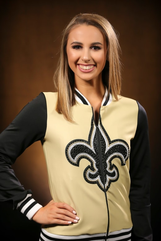 Former+Loyola+dancer+Abigail+LeCompte+was+selected+to+the+Saintsations+this+season.+The+Saintsations+are+the+dance+and+cheerleading+group+for+the+New+Orleans+Saints.+Photo+credit%3A+New+Orleans+Saints