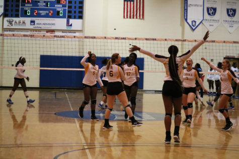 Volleyball team finds its groove after slow start