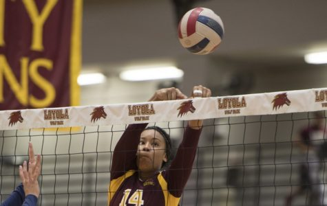 Loyola volleyball loses first two home games of the season