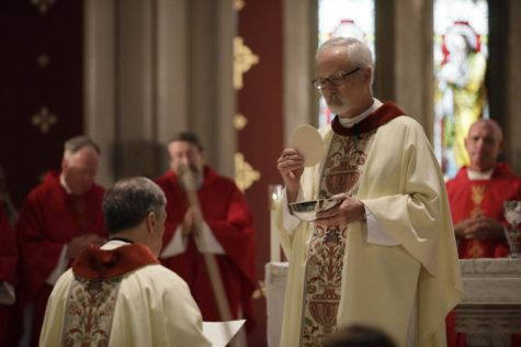 Waldrop takes final vows at Mass of the Holy Spirit
