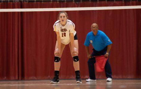 Loyola volleyball loses two games in Florida double-header