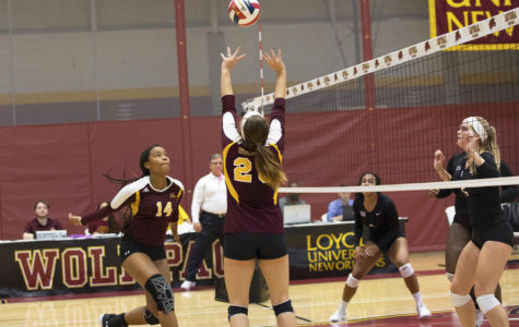 Loyola volleyball beats Middle Georgia State