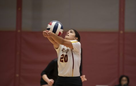 Volleyball season comes to close with loss to Faulkner