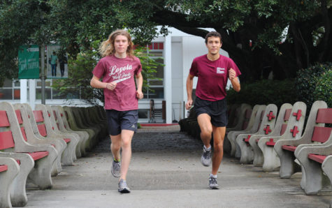Two freshmen are tearing up the trail