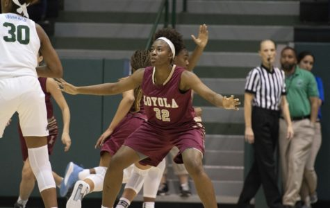 Women's team ended road trip with a loss