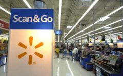 Benson brings holiday cheer early for Walmart customers