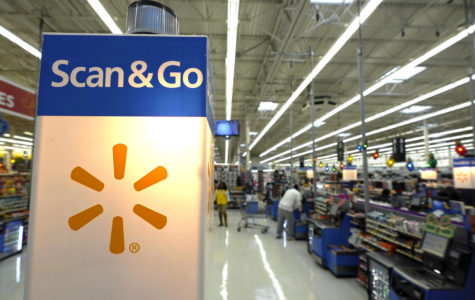 Benson brings holiday cheer early for Walmart customers