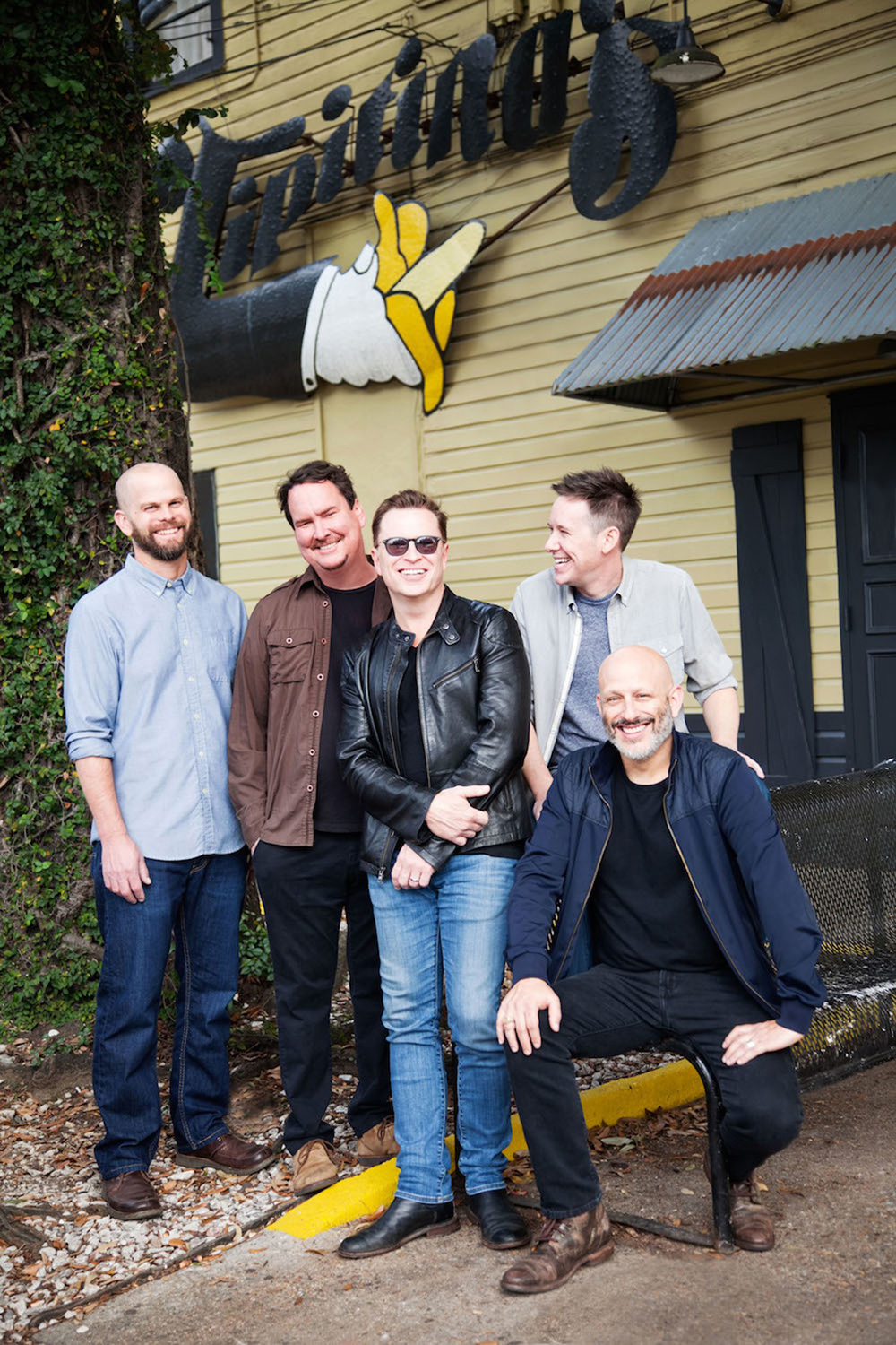 Galactic in front of their new club (Photo Credit: Melissa Stewart)