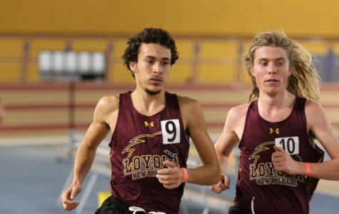 Four Loyola records broken at indoor track meet