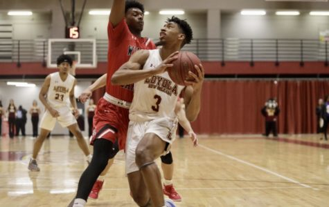 Men's basketball team wins after being down 15 points at halftime