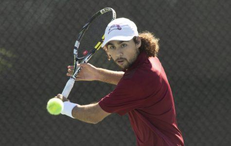 Tennis program racks up wins on the road