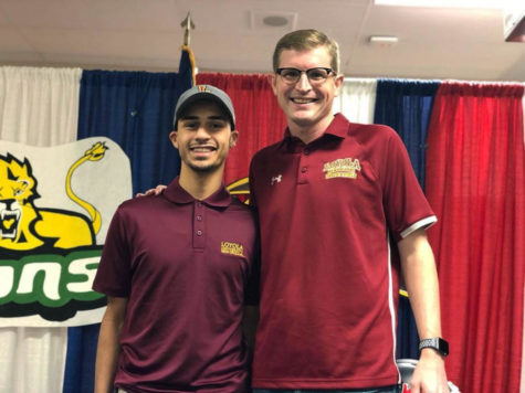 Loyola swimming teams make a splash at conference championship