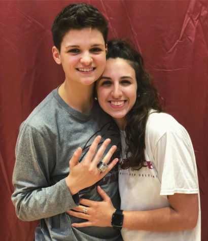 Kayla Noto and Katie Philippi find love through Loyola athletics