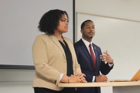 Weil, Mader give their plans to SGA senate