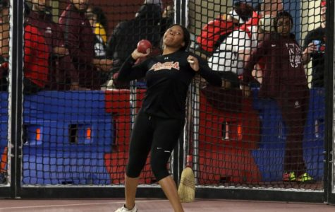 Taylor Hagins breaks school record for the third time