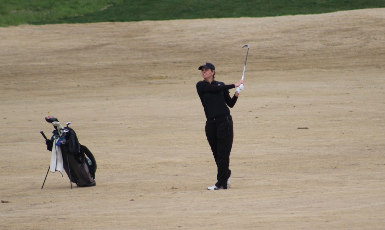 International business senior Ashley Rogers scored her first individual win of her career. Loyola finished fourth place overall in the tournament. Photo credit: Loyola New Orleans Athletics