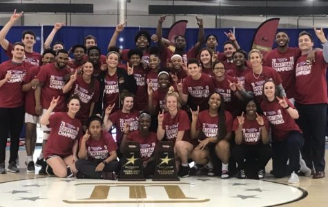 Loyola celebrates two conference basketball championships